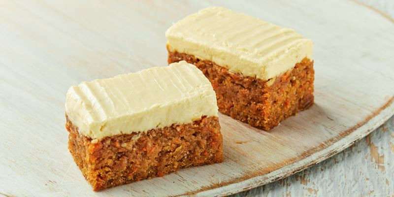 STREAT carrot cake (gf)