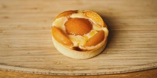 Apricot Frangipani Tart