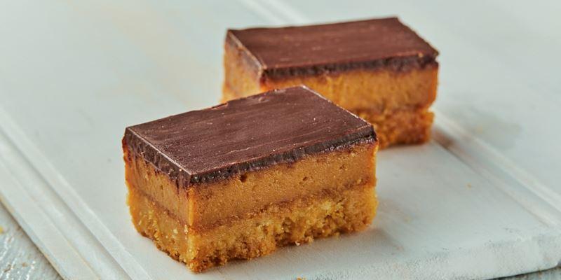 STREAT caramel slice