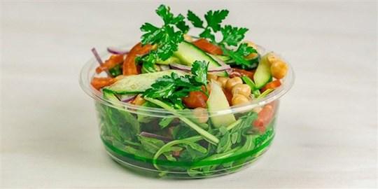 Individual Chickpea Salad (df,gf,vv)
