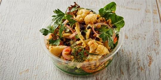Individual Freekeh & Roasted Cauliflower Salad (v)