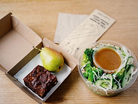 Chicken & Broccoli Salad Lunch Box (fodmap,df,gf)