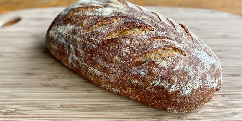 Light Rye Sourdough Batard (680g)