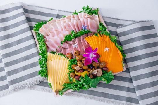 Premium Meat & Cheese Platter