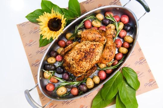 Whole Roasted Free-Range Chicken