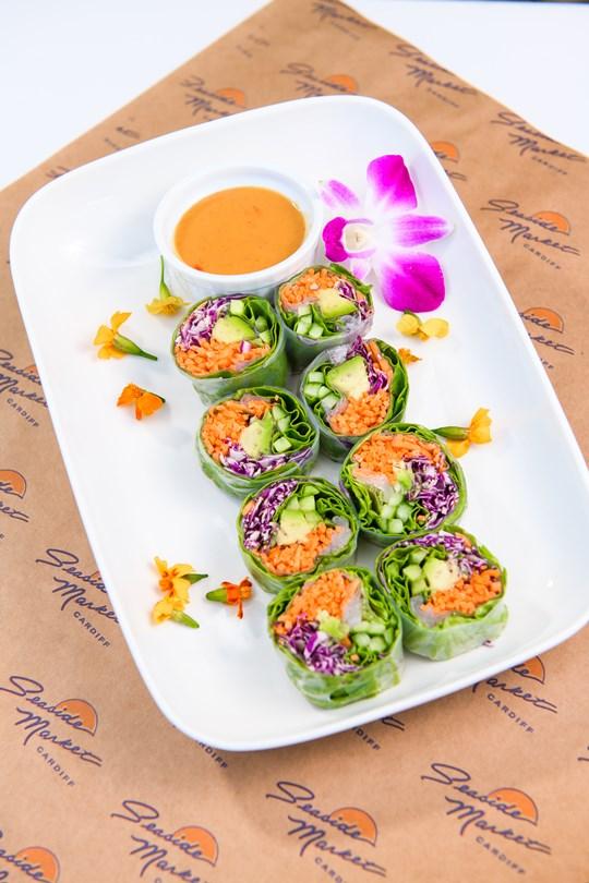 Garden Vegetable Salad Bites