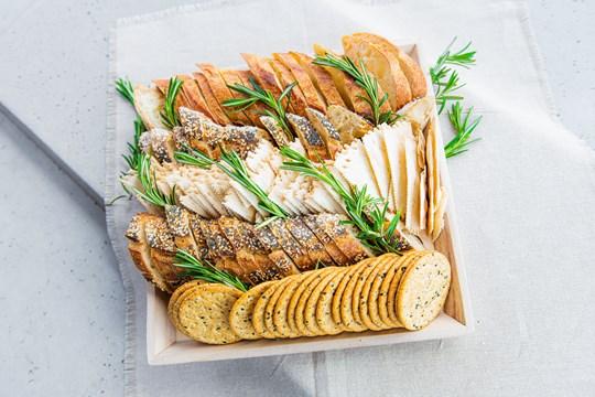 Bread & Cracker Platter