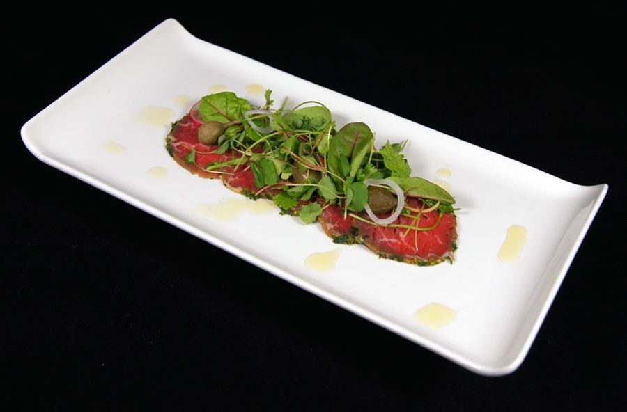 Hereford beef carpaccio