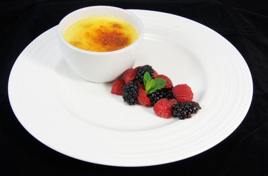 Berkeley raspberry crème brûlée