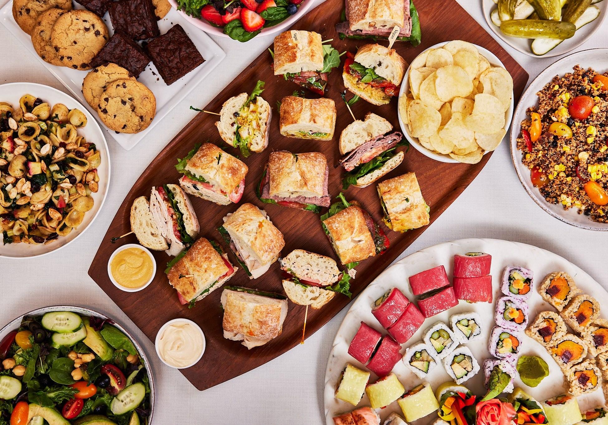 Boston Common Sushi & Sandwich Package - Signature Medium