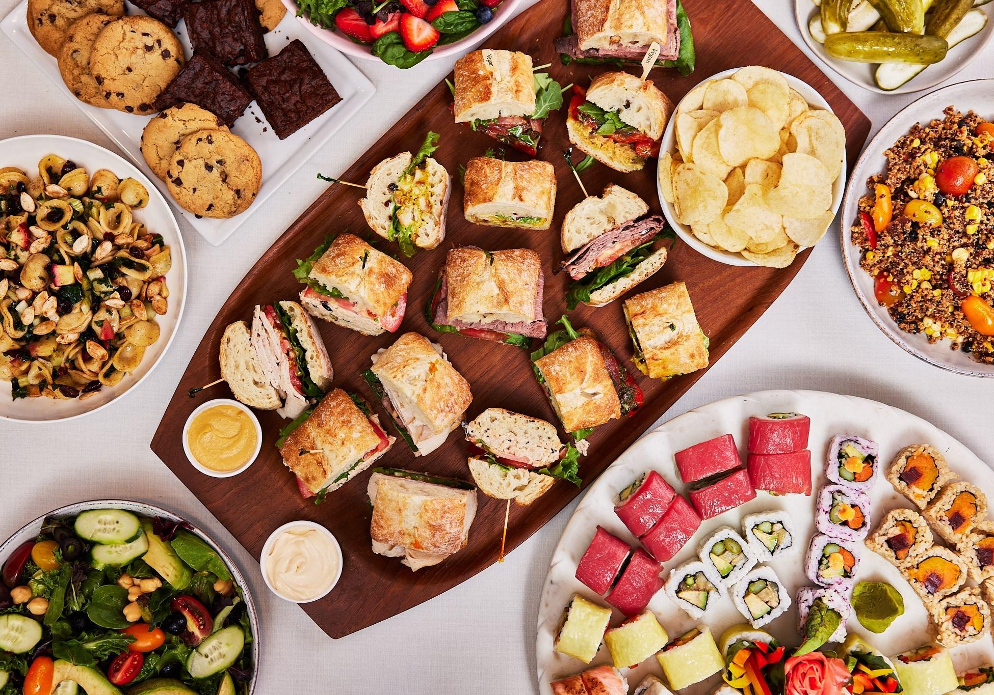 Boston Common Sushi & Sandwich Package - Vegetarian & Fish Medium