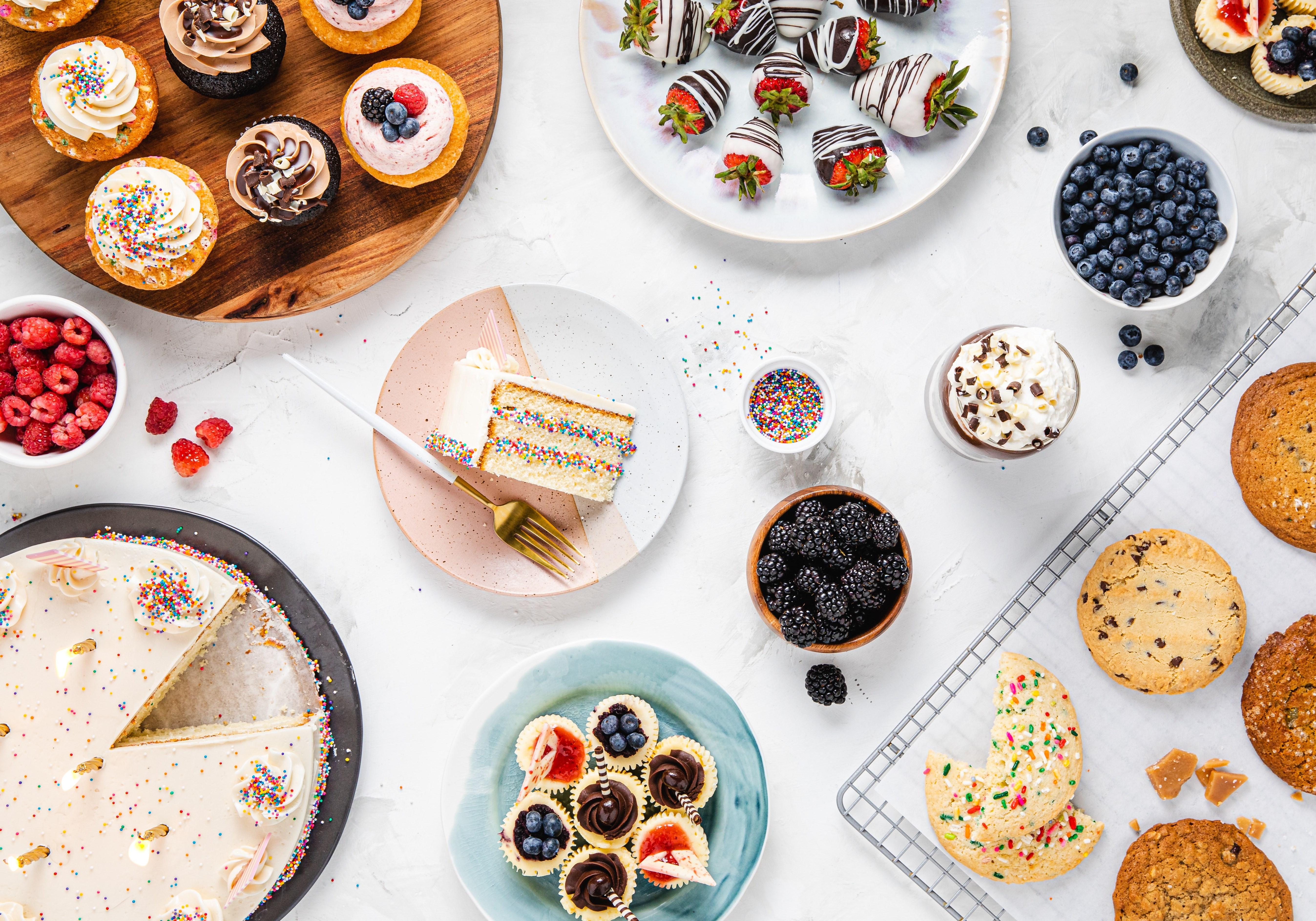 Desserts, Snacks & Beverages