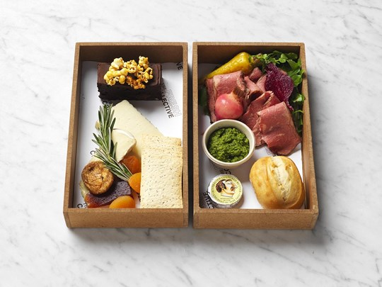 Gourmet lunch box - individual