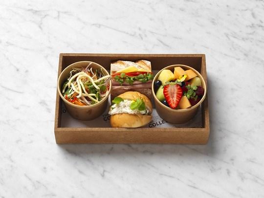 Sandwich lunch box - individual