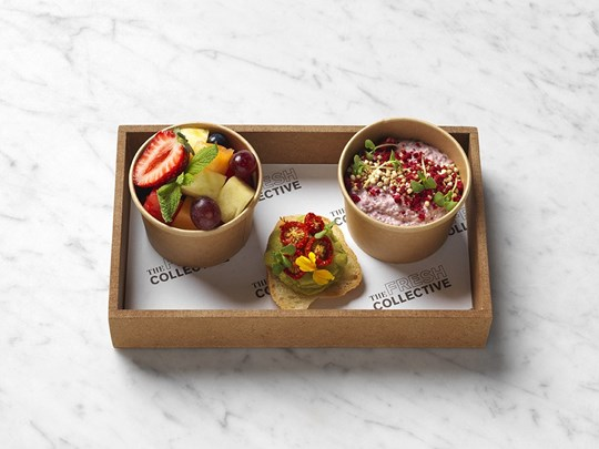 Healthy breakfast box -  individual, vegan, gluten free