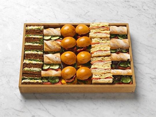 Gourmet sandwich selection