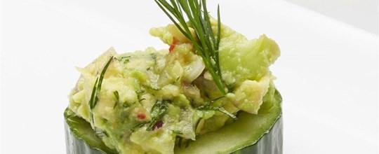 Cucumber Cups - Avocado GF VEGAN