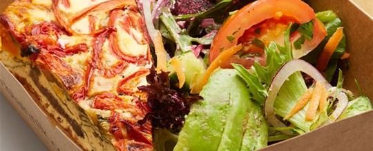 Frittata and Salad Box V GF