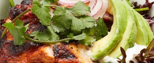 Tandoori Chicken with Garden Salad GF