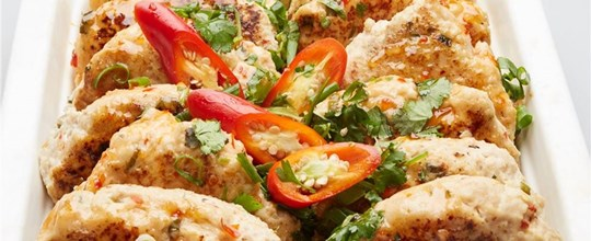 Thai chicken patties GF