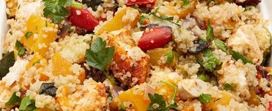 Spiced chicken quinoa GF
