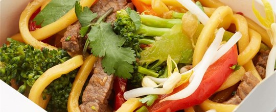 Wok-tossed Hokkien Noodles and Vegetables