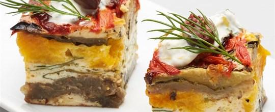 Vegetarian Frittata Squares V GF