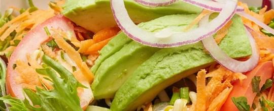 Fresh Garden Salad VEGAN GF