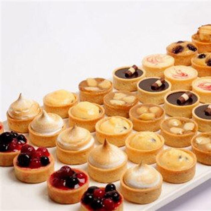 Petite Assorted Tartlets - Platter of 24