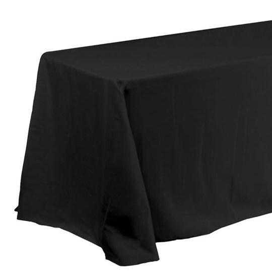 Hire - Black Tablecloth (W 2.1m x L 3m)