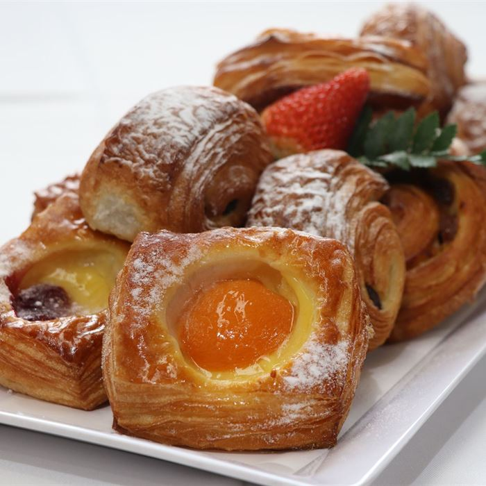 Danish  Pastries - freshly baked