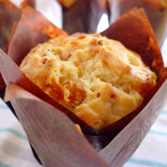 Gluten Free - Savoury Muffin large (Bacon & Cheese) with Butter Portions