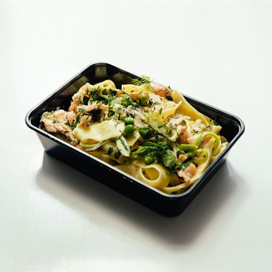 Smoked Salmon Pappardelle - Take Home Meal