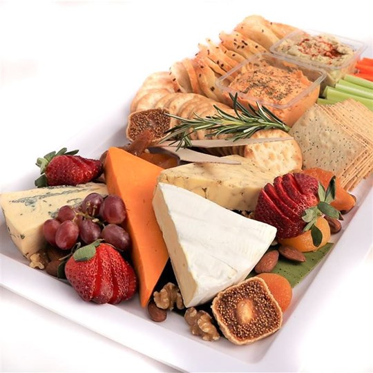 Cheese and Dip Platter
