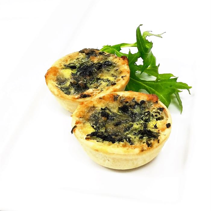 Quiche - Mini - Vegetarian