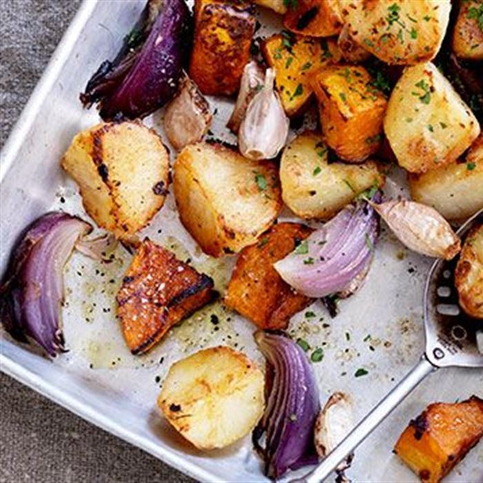 Seasonal Roasted Vegetables