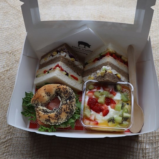 White Lunch Box 3