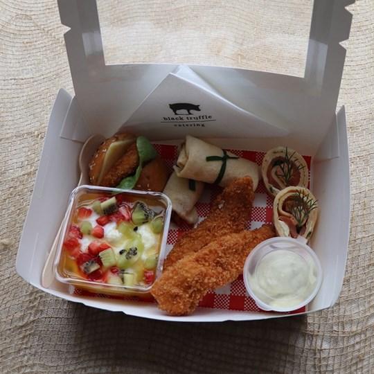 White Savoury Lunch Box 3