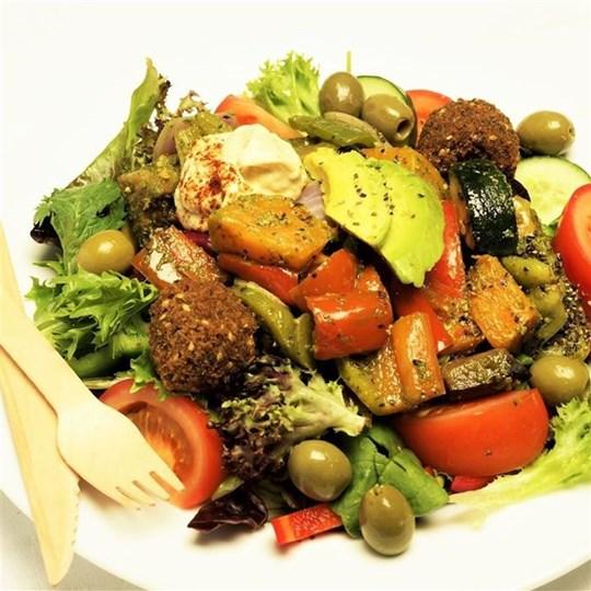 Falafel Salad (GF) (VEGAN) (DF)