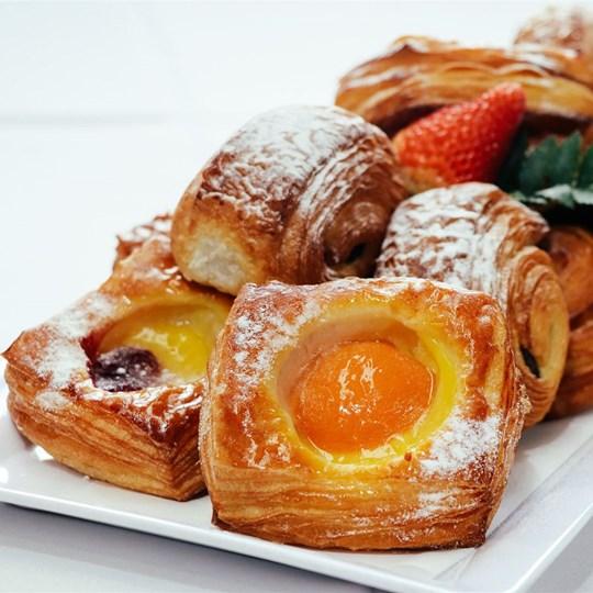 Danish Pastry - freshly baked
