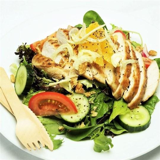 Chicken, Rocket, Fennel, Walnut & Orange Salad (GF) (DF)