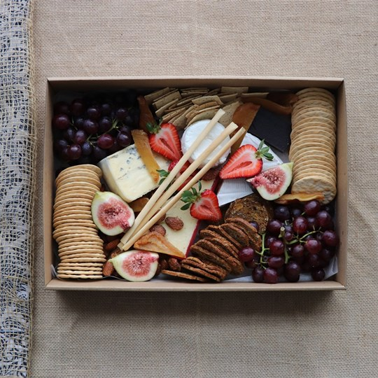 Picnic Cheese and Fruit  (serves 4- 5)
