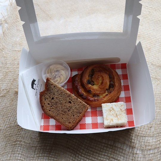 White Morning/Afternoon Tea Box 3
