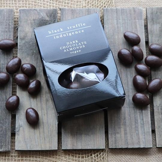 Dark Chocolate Almonds (160g) vegan