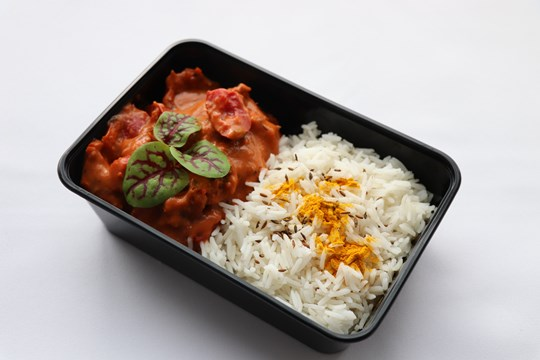 Butter Chicken with Jasmine Rice (GF) - At Home Meal
