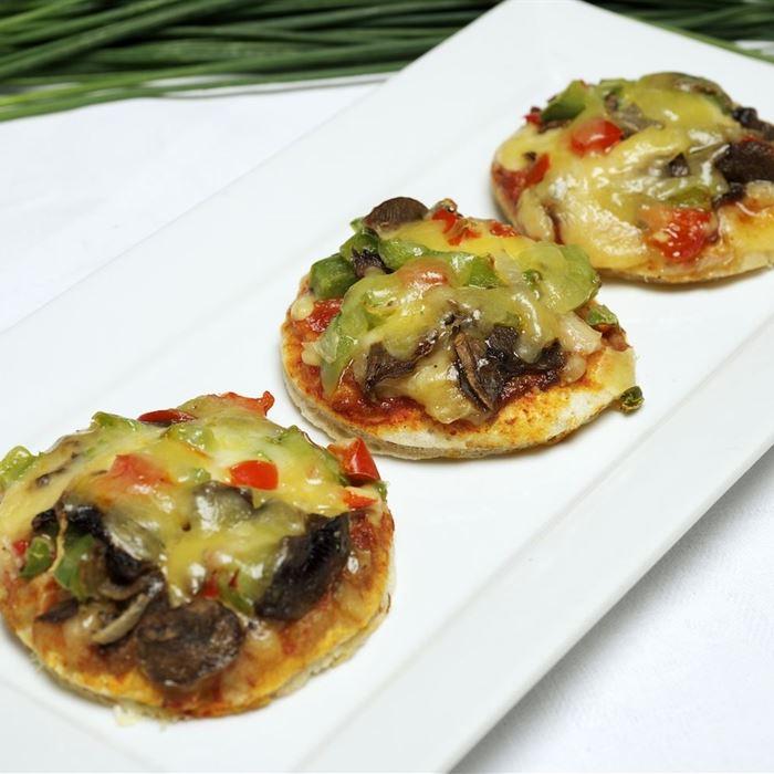Mini Pizza - Vegetarian