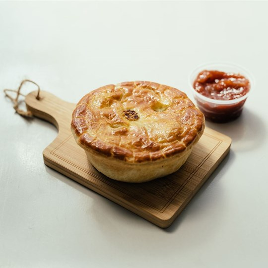 Individual Beef & Red Wine Pie - Take Home Meal