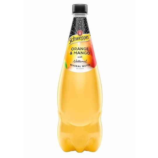 Flavoured Sparkling Mineral Water (1.1Ltr)