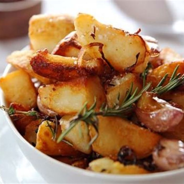 Roast Potatoes - With Rosemary and Garlic (GF)