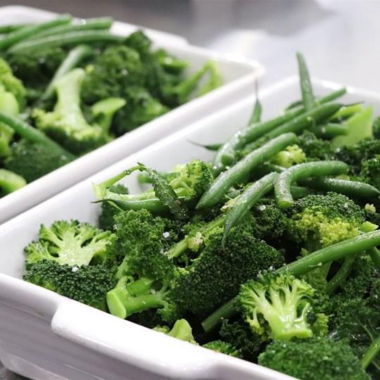 Seasonal Steamed Vegetables (GF)